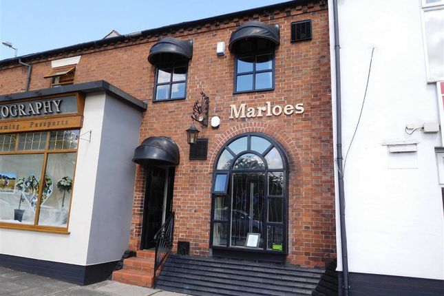 Thumbnail Retail premises for sale in London Road, Newcastle-Under-Lyme, Staffordshire