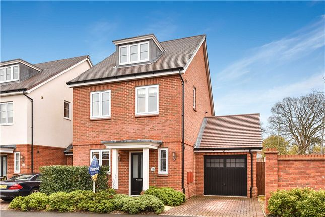Thumbnail Detached house for sale in Clarks Farm Way, Blackwater, Camberley