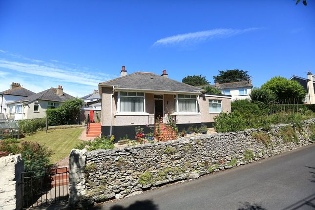 Thumbnail Detached bungalow for sale in Colesdown Hill, Plymouth