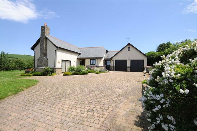 Thumbnail Detached house for sale in Cross Lanes, Launcells, Bude, Cornwall