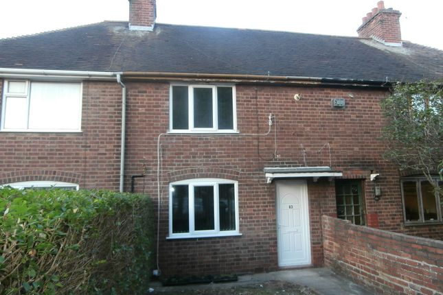 Thumbnail Terraced house to rent in Strathmore Avenue, Coventry