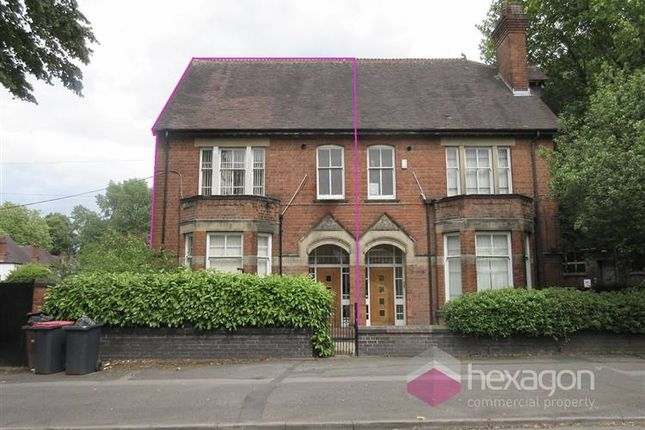 Thumbnail Office for sale in 9 Summerfield Road, Wolverhampton
