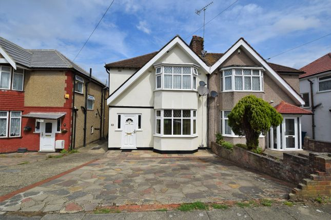 Thumbnail Semi-detached house to rent in Somervell Road, Harrow, Greater London