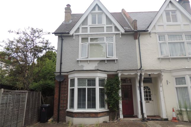 Thumbnail Semi-detached house to rent in Temple Road, Croydon