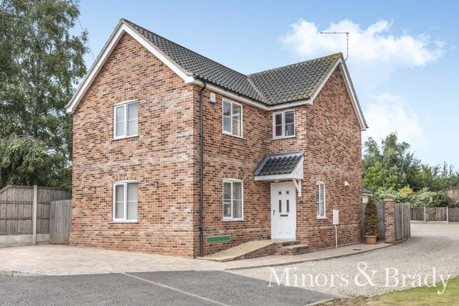 Thumbnail Detached house for sale in Fir Tree, Mill Lane, Fleggburgh, Great Yarmouth