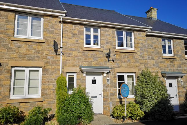 Thumbnail Terraced house to rent in Roundbush Crescent, Caerwent, Caldicot