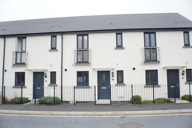 Thumbnail Terraced house for sale in Broxton Drive, Saltram Meadow, Plymouth, Devon