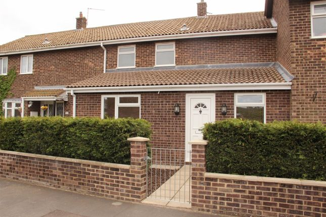 Thumbnail End terrace house to rent in Homelea Crescent, Lingwood, Norwich