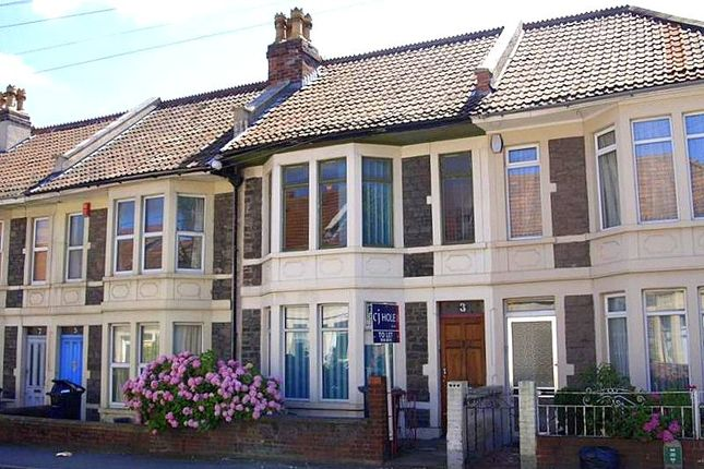 Thumbnail Terraced house to rent in Toronto Road, Horfield, Bristol