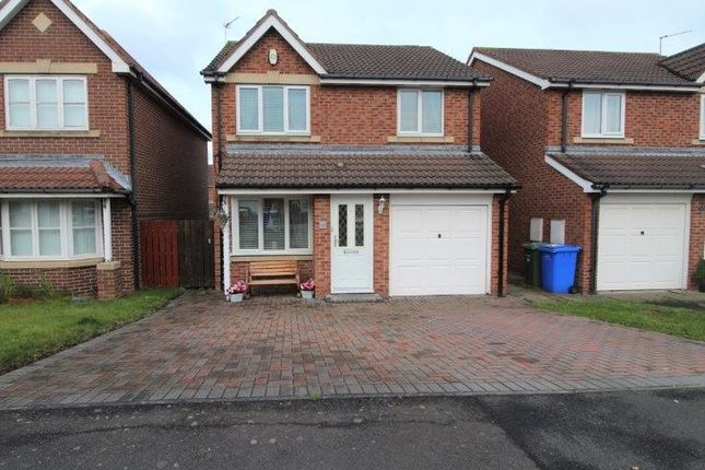 Thumbnail Detached house for sale in Hampstead Close, Blyth