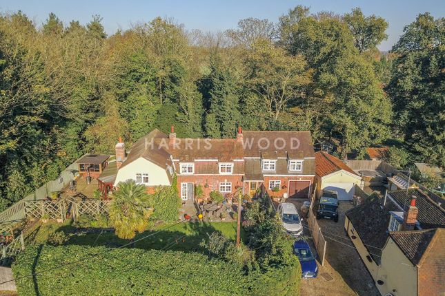Thumbnail Detached house for sale in Burnt Oak Corner, East Bergholt, Colchester