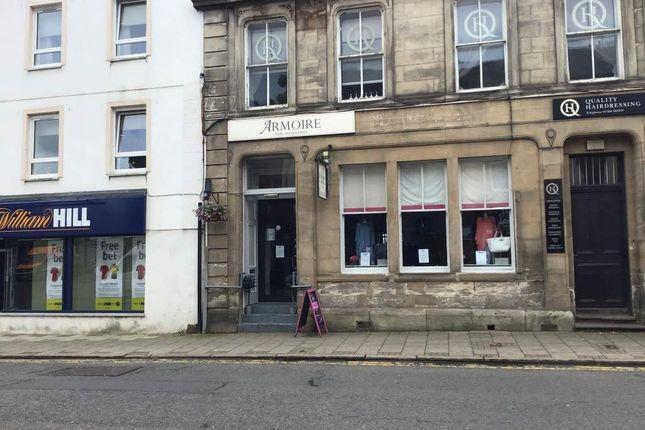 Thumbnail Retail premises for sale in Lainshaw Street, Stewarton, Kilmarnock