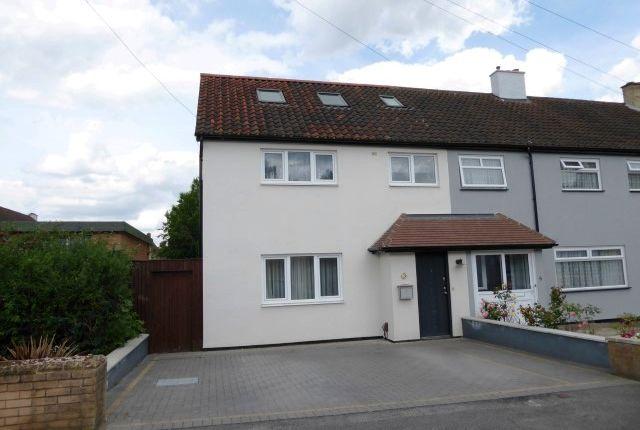 Thumbnail End terrace house for sale in Hatherleigh Close, Chessington
