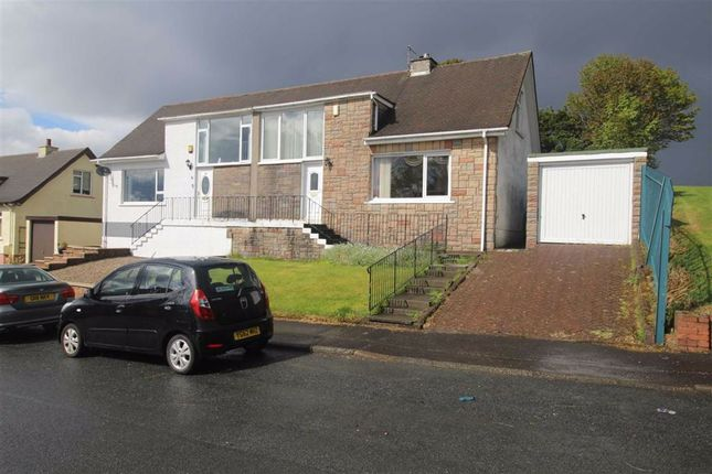 Thumbnail Semi-detached house for sale in Jacobs Drive, Gourock