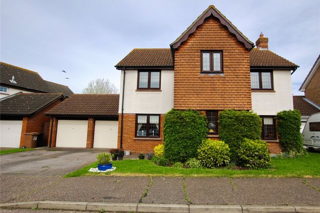 Thumbnail Detached house for sale in Pollards Green, Chelmsford, Essex