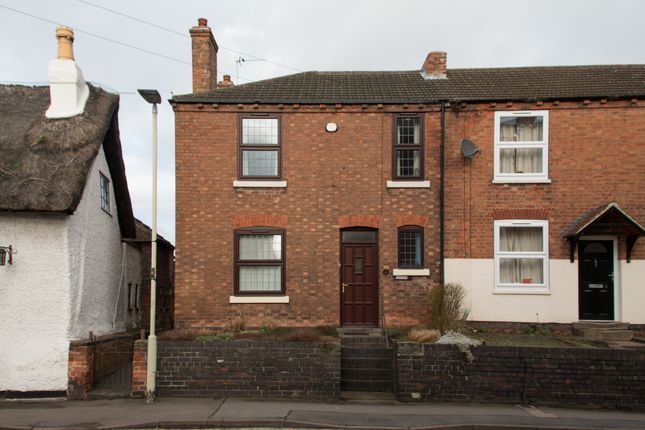 Thumbnail End terrace house to rent in High Street, Kegworth, Derby