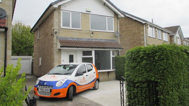 Thumbnail Detached house to rent in Hillside Grove, Pudsey, Leeds