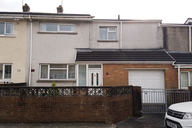 Thumbnail Terraced house for sale in Caer Cynfig, North Cornelly, Bridgend