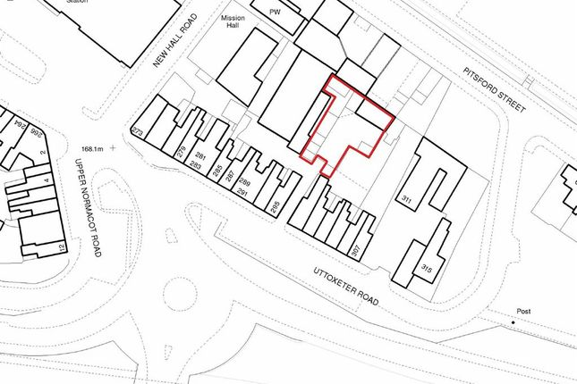 Land for sale in Uttoxeter Road, Stoke-On-Trent, Staffordshire