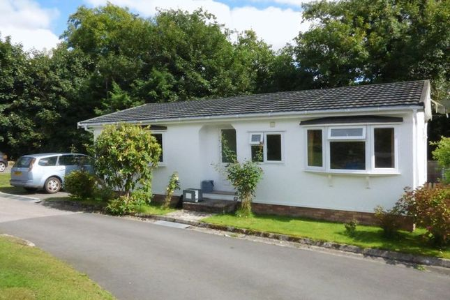 Thumbnail Mobile/park home for sale in Moorshop, Tavistock