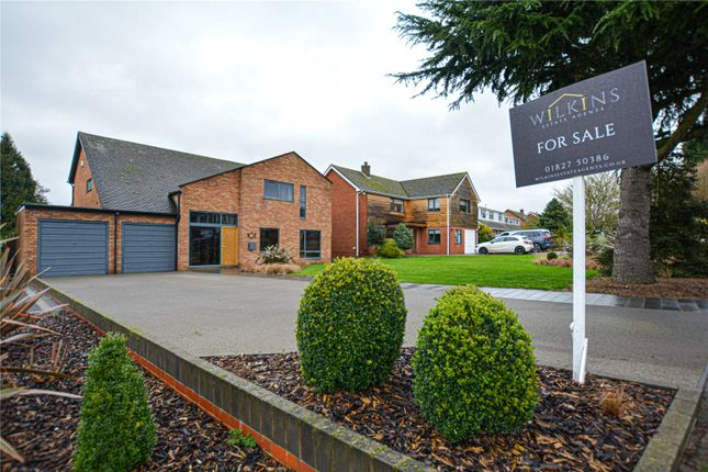 Thumbnail Detached house for sale in Gillway Lane, Gillway, Tamworth, Staffordshire