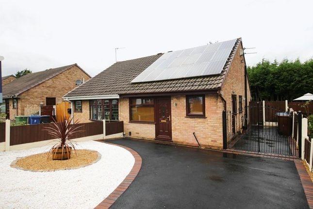 Thumbnail Semi-detached bungalow for sale in Raithby Drive, Hawkley Hall, Wigan