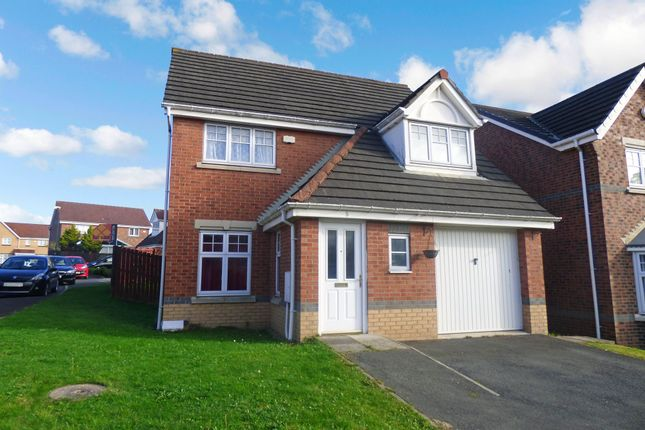 Thumbnail Detached house for sale in Segedunum Crescent, Wallsend