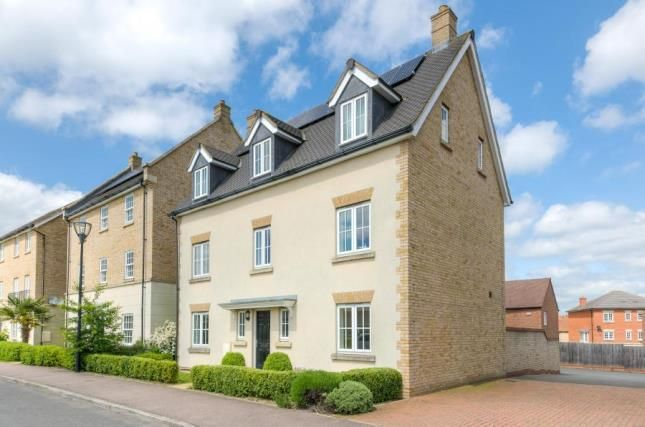 Thumbnail Detached house for sale in Harlow Crescent, Oxley Park, Milton Keynes, Buckinghamshire