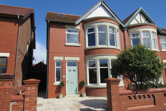 Thumbnail Semi-detached house for sale in Darbishire Road, Fleetwood