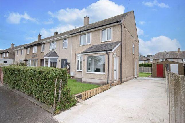 Thumbnail Semi-detached house for sale in Honister Road, Hensingham, Whitehaven