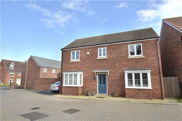 Thumbnail Detached house for sale in Wainfleet Avenue Kingsway, Quedgeley, Gloucester