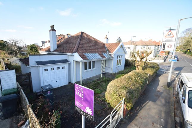 Thumbnail Detached bungalow for sale in Park Grove, Westbury Park, Bristol