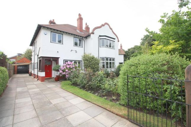 Thumbnail Detached house for sale in Ashbourne Avenue, Crosby, Liverpool