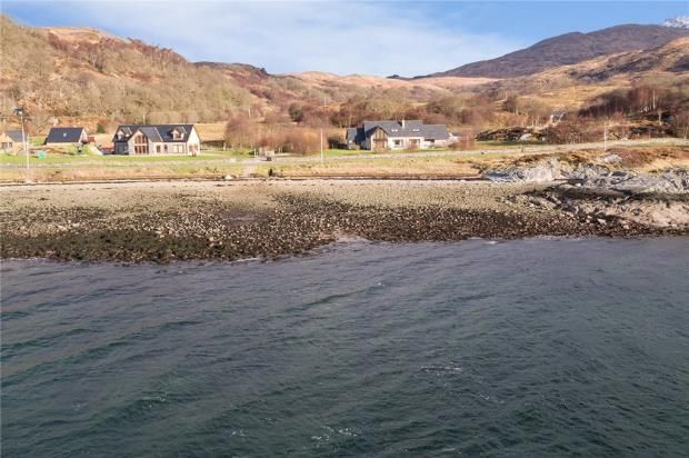 Thumbnail Detached house for sale in Glendelm, Strontian, Acharacle, Highland