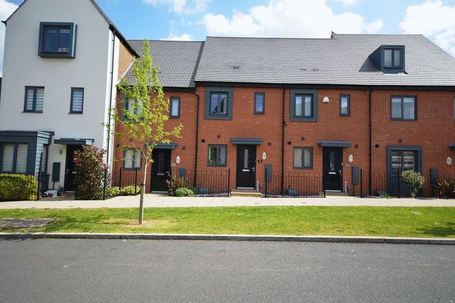 Thumbnail Terraced house for sale in Birchfield Way, Telford