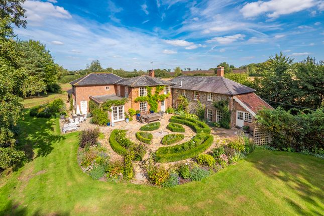 Thumbnail Farmhouse for sale in Gedding, Bury St Edmunds, Suffolk