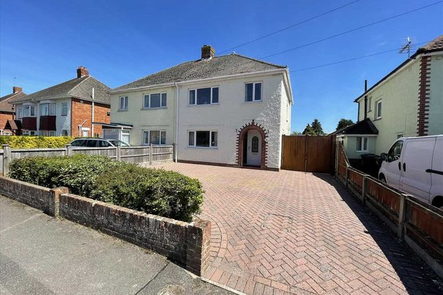 Thumbnail Semi-detached house for sale in Horsham Avenue, Kinson, Bournemouth