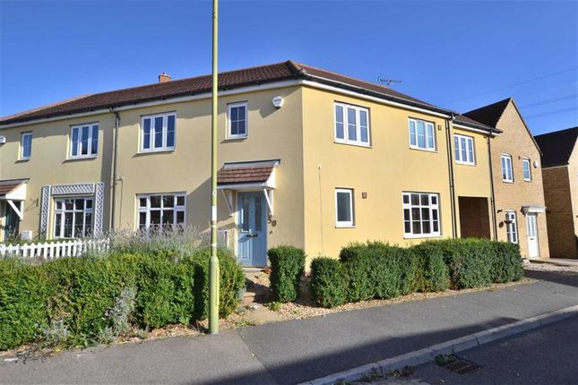 Thumbnail Semi-detached house to rent in Fairfield Crescent, Stevenage, Herts
