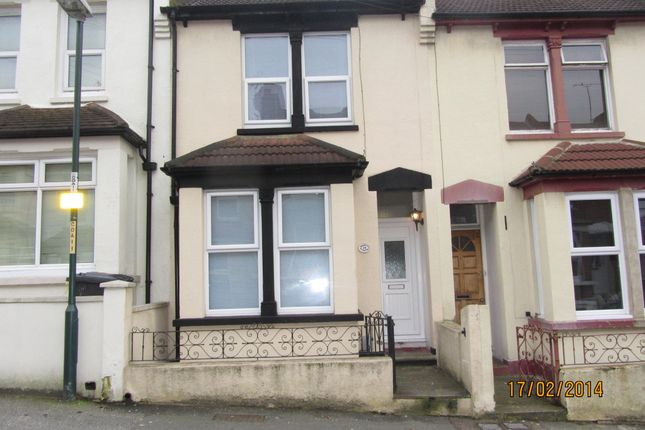 Thumbnail Terraced house to rent in Cecil Road, Rochester, Kent