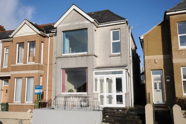 Thumbnail Semi-detached house for sale in Chard Road, Plymouth, Devon