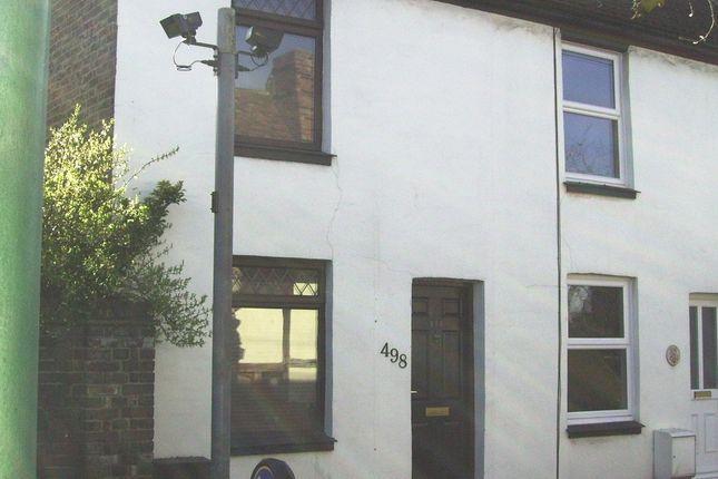 Thumbnail End terrace house to rent in Lower Rainham Road, Gillingham