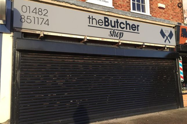 Thumbnail Retail premises to let in Greenwood Avenue, Hull