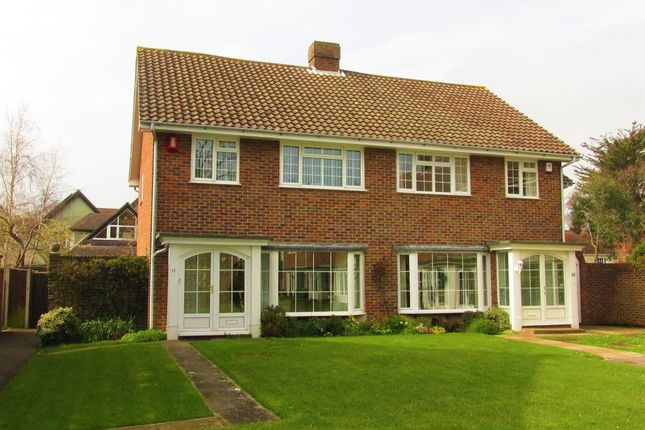 Thumbnail Semi-detached house for sale in Lodge Gardens, Gosport