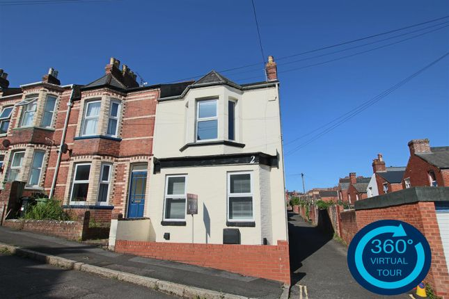 End terrace house for sale in Elton Road, Mount Pleasant, Exeter