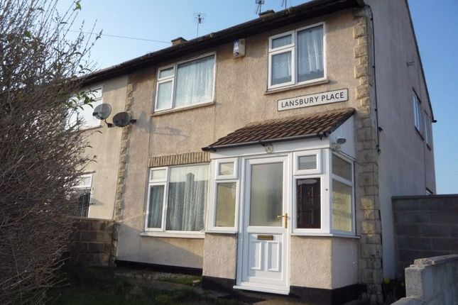 Thumbnail Semi-detached house to rent in Lansbury Place, Rawmarsh, Rotherham, South Yorkshire