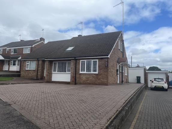 Thumbnail Bungalow for sale in Okehampton Road, Styvechale, Coventry