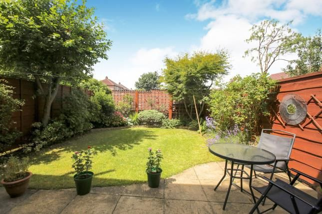 Garden of Cherry Tree Lane, Great Moor, Stockport, Cheshire SK2