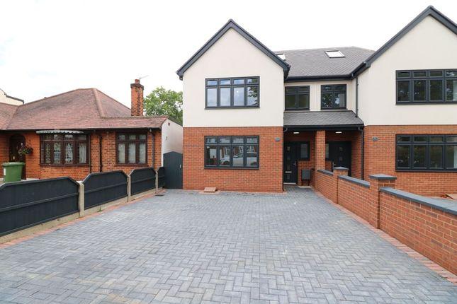 Thumbnail Semi-detached house for sale in Mashiters Walk, Marshalls Park, Romford