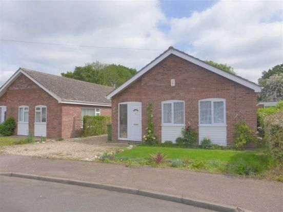 Thumbnail Detached bungalow for sale in Bickley Close, Attleborough