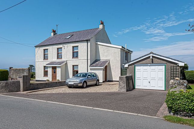 Thumbnail Detached house for sale in Gorad, Valley, Holyhead